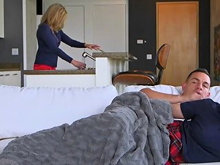 Stepmom Takes Care Of Naughty Needs Txxx Com