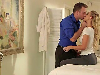 Fabulous Big Breasted Milf Cherie Deville Is Made To Ride Strong Cock