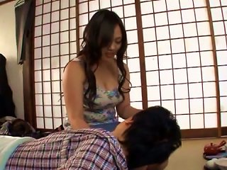 Horniest And Bustiest MILF Yuki Saegusa Gives A Show