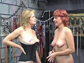 Two Sexy Kinky Mature Babes Have Some Hot Bi Fun In The
